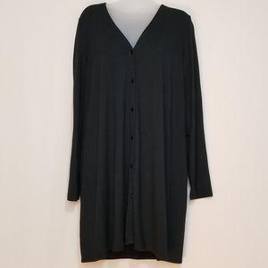 Medium J. Jill button up long sleeve shirt/dress